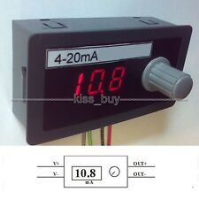 Digital display 4-20mA Signal Source Signal Generator Constant Current Source