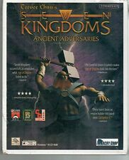 Trevor Chan's SEVEN KINGDOMS ANCIENT ADVERSARIES PC Game CD-ROM NEW in BOX