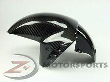 2006-2011 ZX14 ZX-14 ZZR1400 Front Wheel Tire Fender Fairing 100% Carbon Fiber