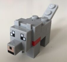 LEGO MINECRAFT 21121 WOLF MINI FIGURE MUST SEE!!! check pictures!!!