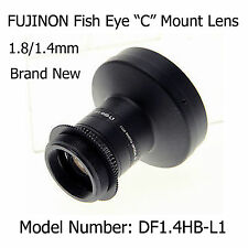 "Fujinon DF1.4HB-L1 Fish Eye ""C"" Mount Lens 