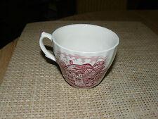 Kaffeetasse - Merrie olde England - Hostess Tableware - rot