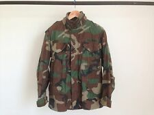GOLDEN MFG ORIGINAL NAVY M65 WOODLAND CAMO JACKET TYPE MILITARY ARMY AIR FORCE S
