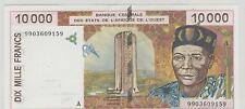 BANQUE CENTRALE DES ETATS DE L'AFRIQUE DE L'OUEST 100000 F LETTRE A SUP