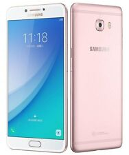 "New Imported Samsung Galaxy C7 Pro Duos Dual 64GB 4GB 5.7"" 16MP 16MP PinkGold"