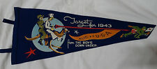 WWII Target For 1943 Felt Pennant From the Boys Down Under USA Australia