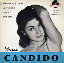 MARIA CANDIDO HISTOIRE D'UN AMOUR FRENCH ORIG EP ARMAND MIGIANI / PAUL DURAND