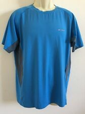 Men's Columbia Omni Freeze Zero Sweat Activated Cooling Short Sleeve T-Shirt L