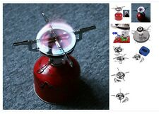 Mini Portable Outdoor Picnic Gas Burner Camping Stainless Steel Stove Case Torch