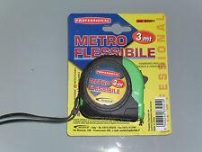 METRO FLESSIBILE 3mt professionale CON GANCIO ROLLINA METRO cantini