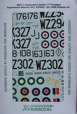 Xtradecal 1/48 X48117 RAF Supermarine Spiteful and Attacker decal set.
