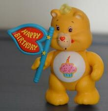 Vintage Poseable CARE BEAR Figure Kenner BIRTRHDAY Complete with TOY Accessory