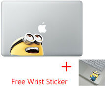 Despicable Me Minion Apple Macbook Air Pro 13 Skin Decal Vinyl Sticker + Minion