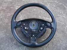 VAUXHALL ASTRA G MK4 LEATHER EFFECT 3 SPOKE STEERING WHEEL & RADIO BUTTONS 98-04