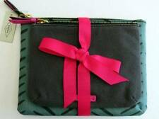 Fossil Keely Herringbone Double Pouch Cosmetic Bags (Set of 2) #SL7209026 NWT