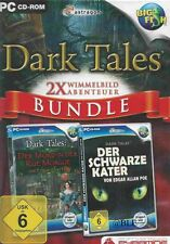 Pc cd-rom + Dark tales + 2 fourmilière aventure + lossale + win 8