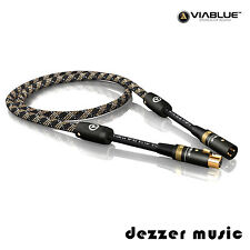 ViaBlue 10m Digital-XLR-Kabel NF-S2 Silver / AES/EBU 110 Ohm / 10,00…High End