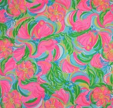 Lilly Pulitzer 2016 So A Peeling Cotton Sateen Fabric 1 Yard BTY