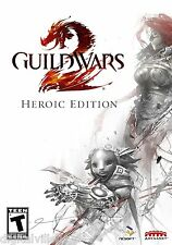 Guild Wars 2 II Heroic Edition PC Brand New Sealed Fast Shipping