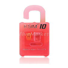 R-SIM 10 RSIM Nano Cloud Card for iPhone 6 plus 5 5S 4S 5C 2G 3G 4G LTE iOS 8.x