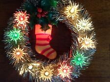 Vintage 11 Light Tree Top Wreath