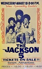 "The Jackson Five 1971 16"" x 12"" Photo Repro Concert Poster"