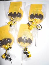 24 Batman Symbol only Boys 5th Birthday Chocolate Lollipop Party Favors