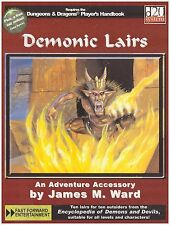 Demonic Lairs Dungeons & Dragons 3.5 3.0 Rpg Sourcebook d20 *NEW* FAF 2007