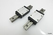 IGUS Drylin LM Guide Used TW-01-15+150mm 2Rail 2Block Clearance adjustable