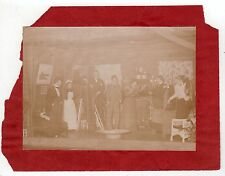 Rare 1894 RANGELEY HALL BANGOR MAINE Amusement Club PHOTOGRAPH Real Photo ME