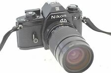 NIKON EM & 30 -80mm ZOOM LENS. - 35mm Film Camera, Ideal Student / Starter