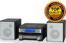 Stereo Player Compact CD disc system home radio music amfm New fm am tuner Gpx
