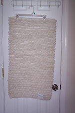 "NEW Gracious Living Premium Bath Rugs Ecru 21"" by 34"" Large Loops!!!"