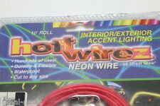 STREET GLOW Hott Wirez Neon Wire 10' Roll Coral Pink 12V Cut to Size Light NEW