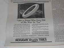 1920 MOHAWK TIRES ADVERTISING  APRIL 10  National Stockman and Farmer