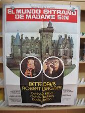 A541 EL EXTRAÑO MUNDO DE MADAME SIN BETTE DAVIS ROBERT WAGNER