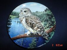 "The Majesty Of Owls ""Barred Owl"" Danbury Mint Wedgewood Collectors Plate"
