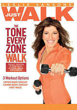 Leslie Sansone: The Tone Every Zone Walk DVD, Leslie Sansone, Not Available