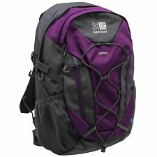 Karrimor Urban 30 Litre Backpack Purple/Char Rucksack Sports Kitbag Travel Bag
