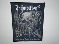 INQUISITION BLACK METAL SUBLIMATED BACK PATCH