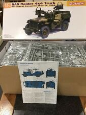 Dragon 1/6 WW2 British SAS Raider 4x4 Willys Jeep Truck