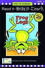 Nir! Read It, Write It: Frogs Legs - Level 1 (Now I'm Reading!: Level 1)