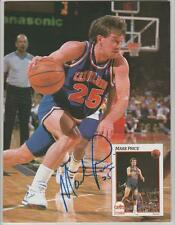 Mark Price AUTOGRAPH 1992 BECKETT MAGAZINE SIGNED CLEVELAND CAVALIERS