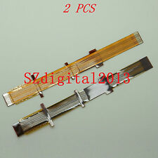 2PCS/ Viewfinder Eyepiece LCD Flex Cable For Sony HVR-Z5C HVR-Z1C DSR-PD198P