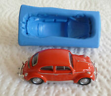 3d Vw Beetle Silicona Molde Para Cake Toppers Chocolate Arcilla Etc