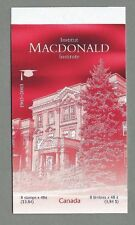 CANADA 2003 Booklet - MACDONALD INSTITUTE. - 8 @ 48c. - Complete MNH