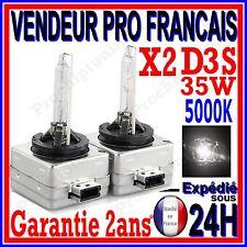 2 AMPOULES D3S AU XENON 35W KIT HID 12V LAMPE RECHANGE D ORIGINE FEU PHARE 5000K