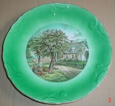 Fine Series L I Porcelain Collectors Plate currier & Ives AUTUMN