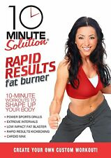 DVD - Exercise - Fitness - 10 Minute Solution: Rapid Results Fat Burner