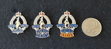3 x Different Northern Territory Police, CADET & AIDE Badge Style Pins (social)